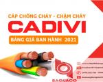 Bảng Giá Cáp Chống Cháy CADIVI