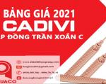 Bảng Giá Cáp Đồng Trần CADIVI